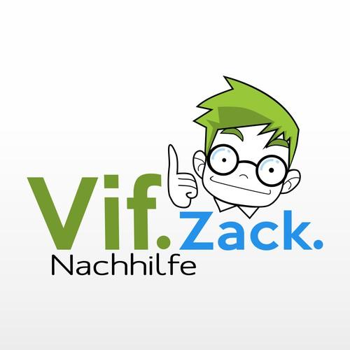 Vif.Zack. Logo Design