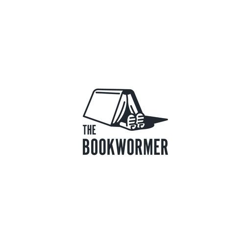 Logo for The bookwormer