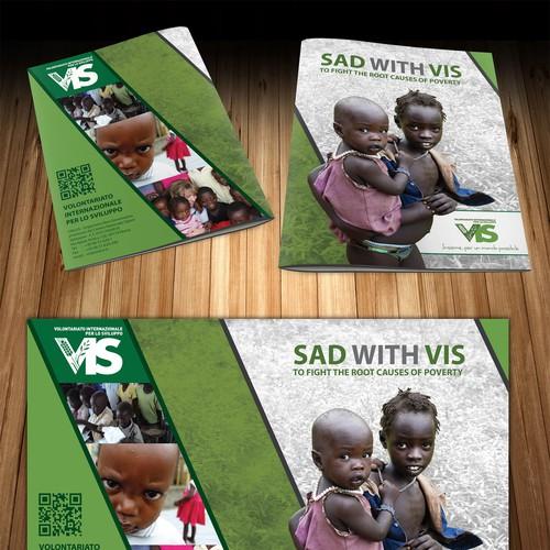 99nonprofits - Crea il prossimo brochure design per VIS - Volontariato Internazionale per lo Sviluppo