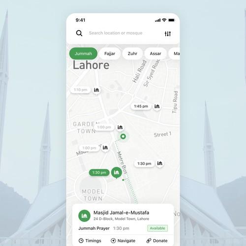 Mosque App Concept