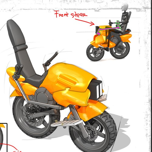 Design the Next Uno (international motorcycle sensation)