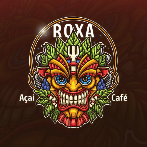 Character design for Roxa Cafe