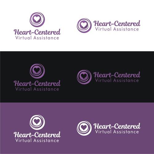 Feminine yet classy/elegant design for a Heart-Centered VA