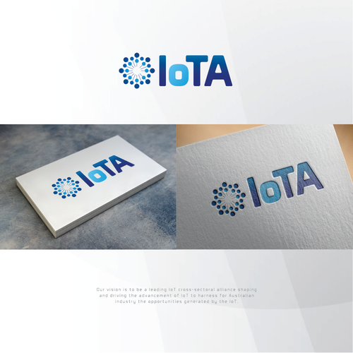 Logo concept for Internet of Things Australia