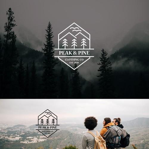 Logo of Peak and Pine Clothing