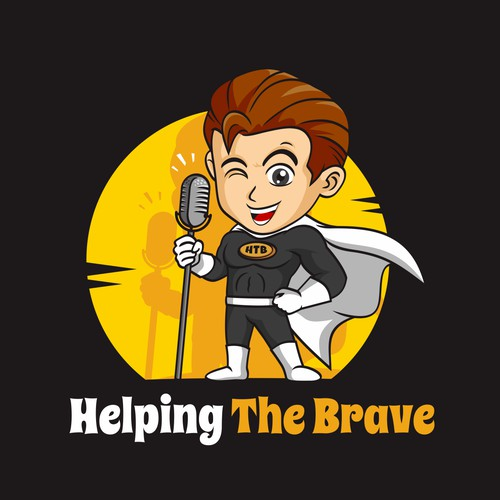 Logo for Helping The Brave