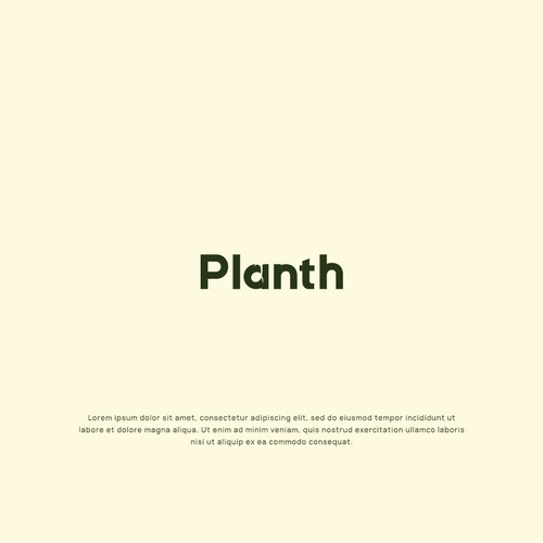 Logo for a plant-based awareness raising brand