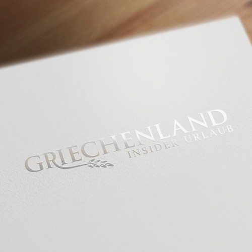 Logo for a travel website about Greece