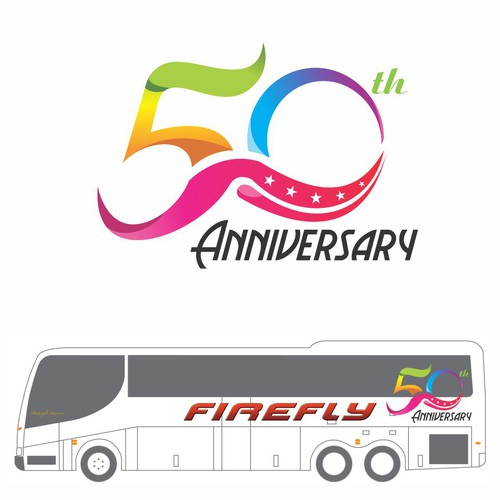 logo for 50th Anniversary of Firefly.