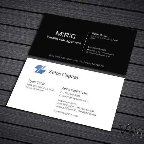 National Corporation Business Card Design