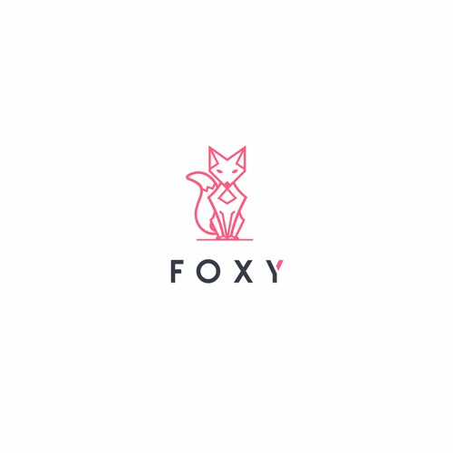 Create a fun, sexy, female, humanoid-fox character/icon for Foxy