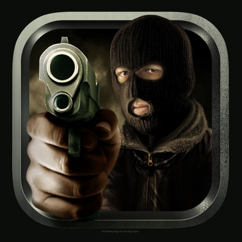 App icon for a mafia style game