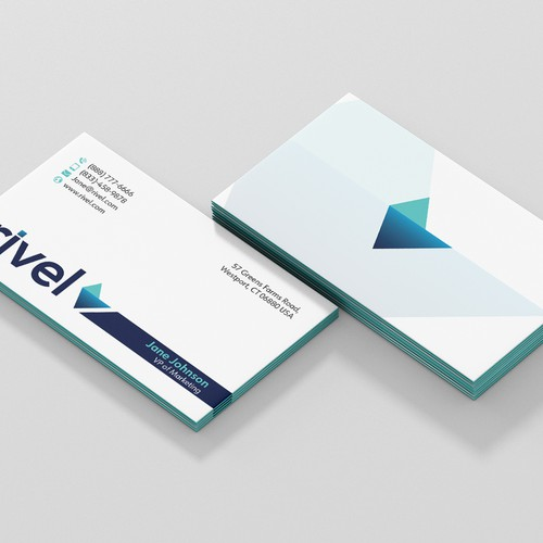 Business Card for Rivel