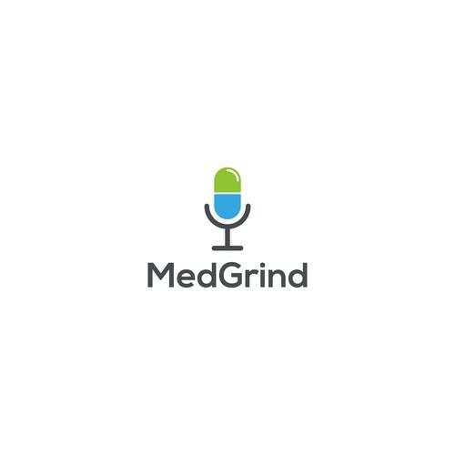 Design a badass logo for MedGrind