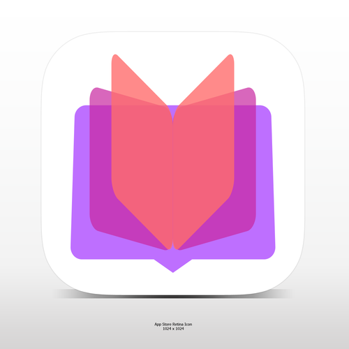 vibrant colorful App Icon