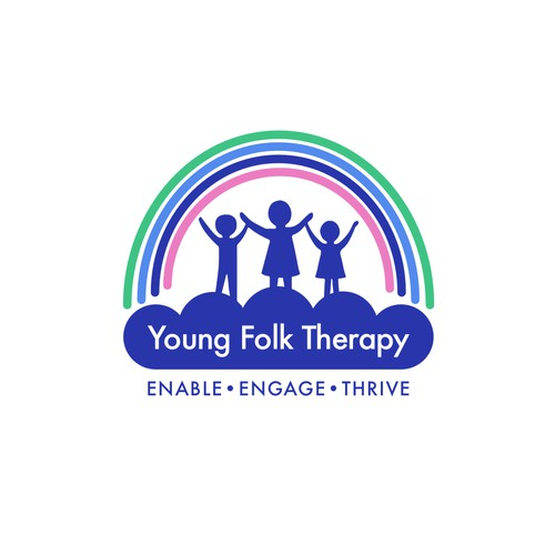 Logo for children's therapy business