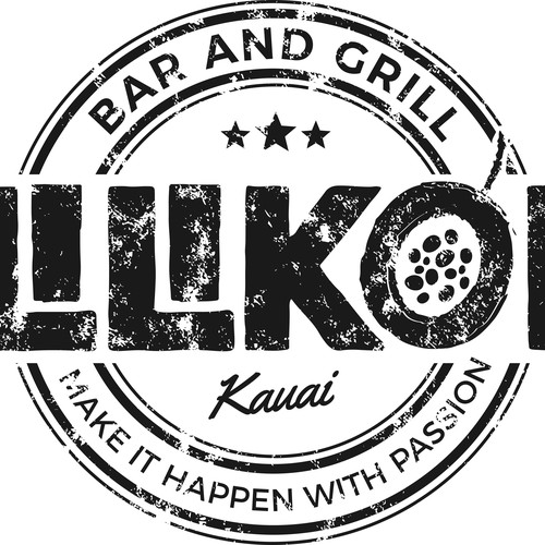Lilikoi bar and grill t shirt