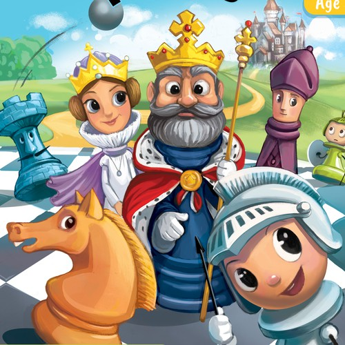 Chess discovery book for kids