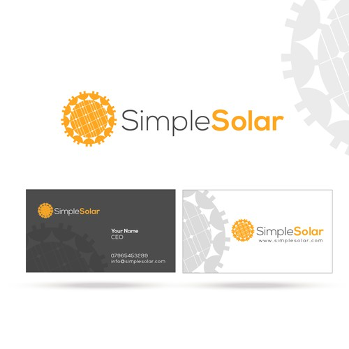 New logo and business card wanted for Simple Solar