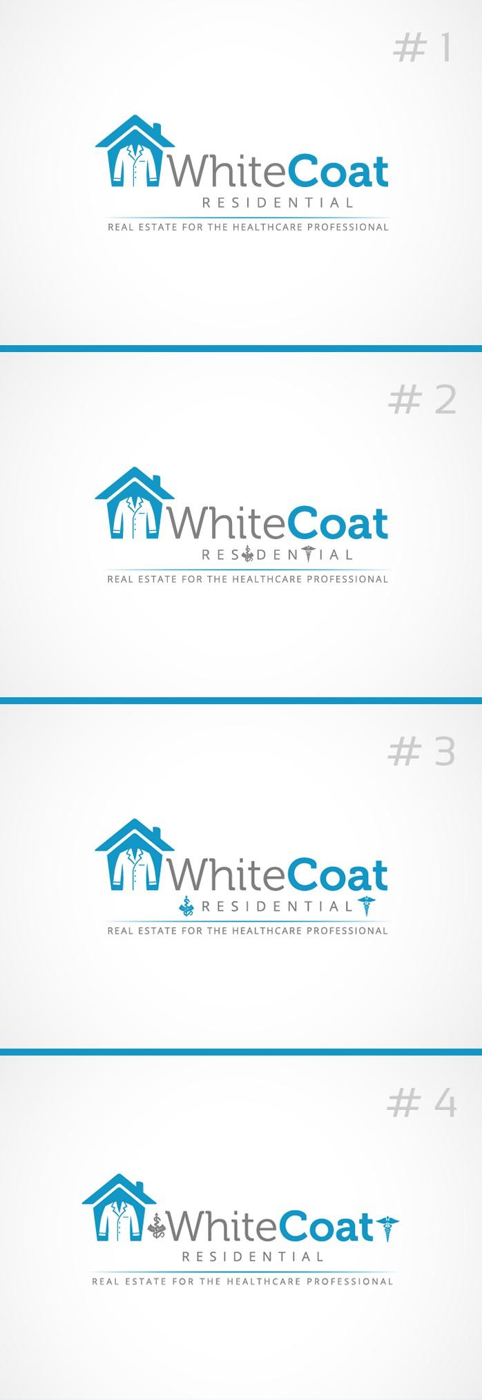 Make your creative mark on logo design for White Coat Residential!