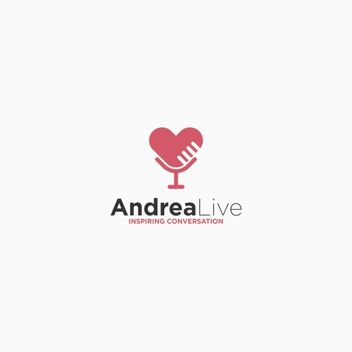 logo for andrea live