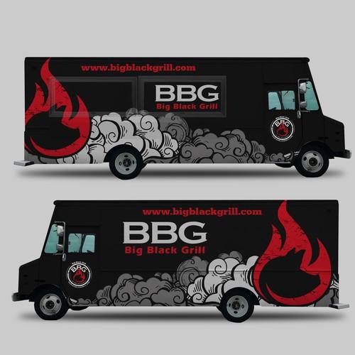 Food Truck Big Black Grill