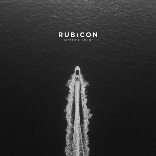 Logo and Business Card For Rubicon Maritime Group