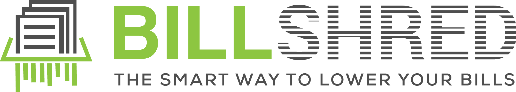 """Design a clean logo for Billshred - """"The smart way to lower your bills"""""""