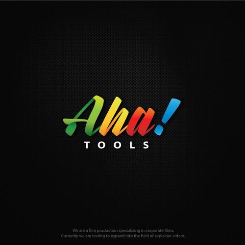 Logo concept for - Aha! Tools