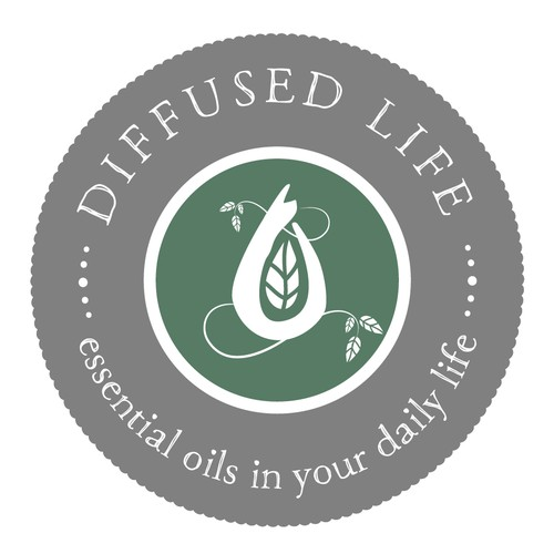 Logo for promoting essential oils
