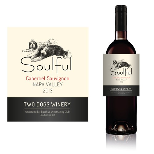 WINE LABEL SOULFUL