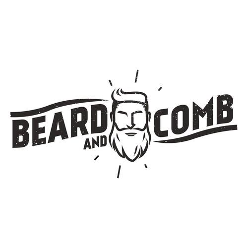 Create a unique logo for Beard & Comb