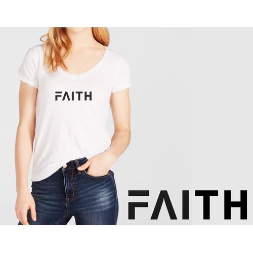 women's t-shirt for a new brand FAITH