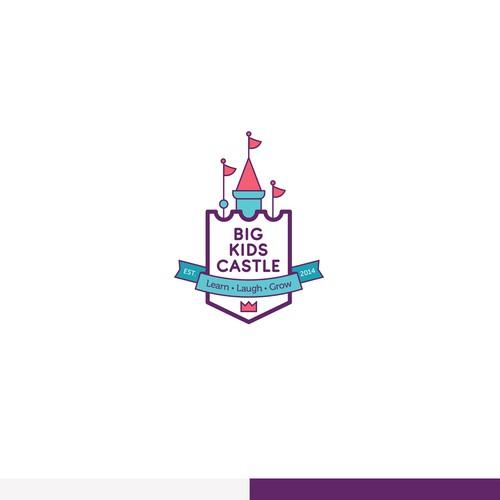 Logo concept for kids care centre