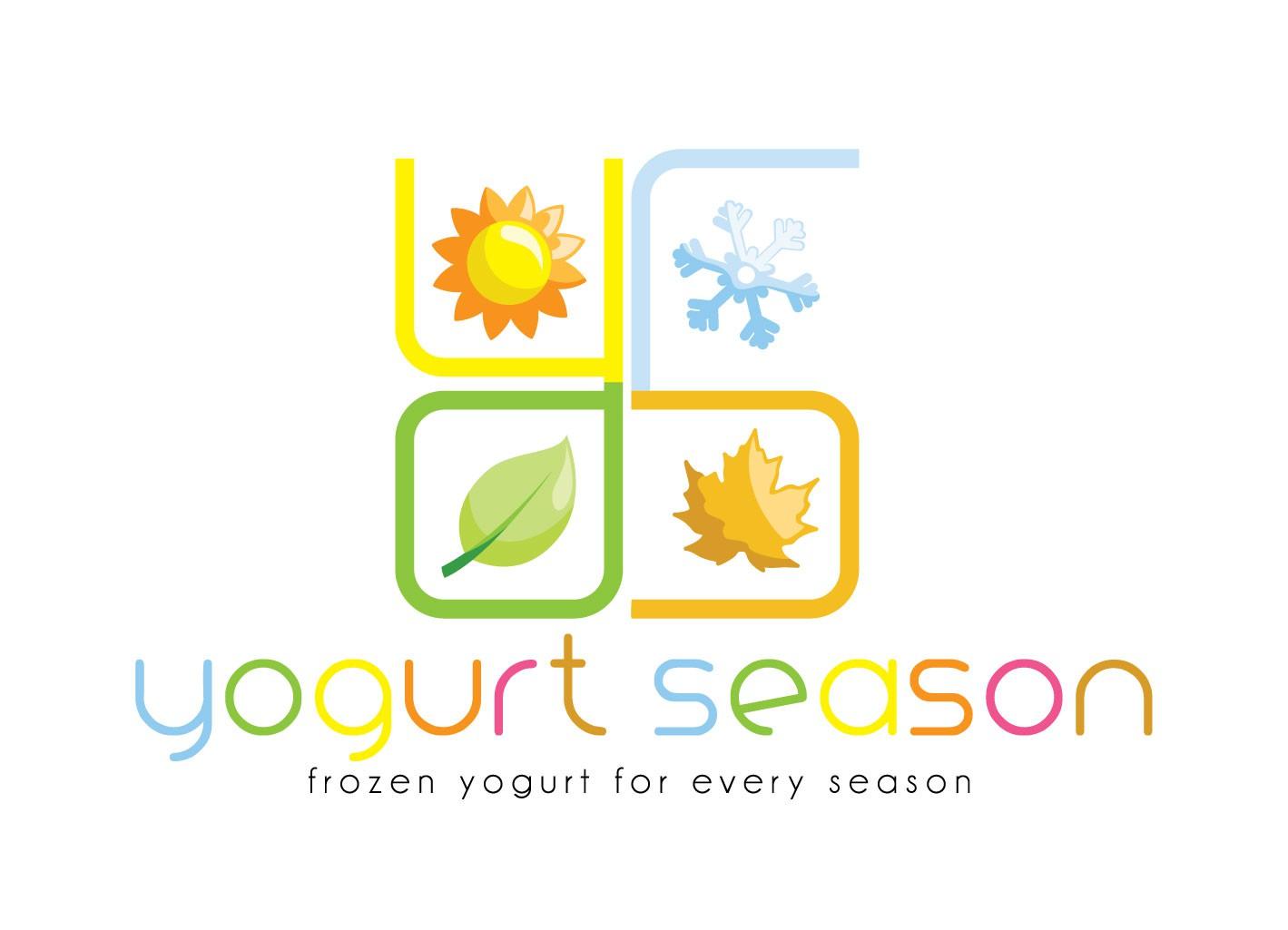 logo for yogurt season