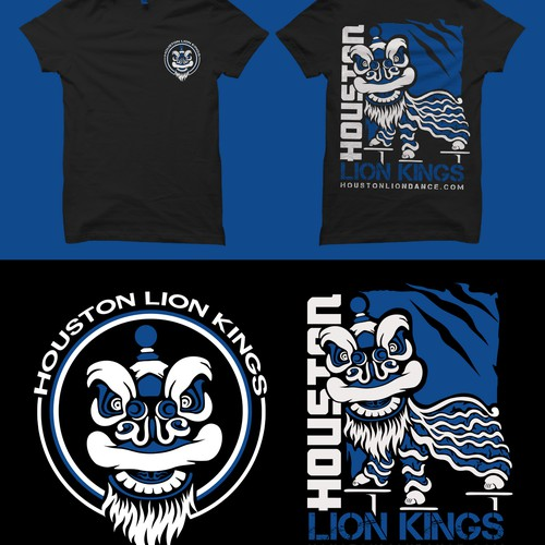 Modern Team Shirt for Lion Dance