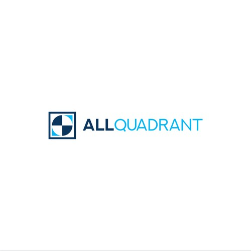 Bold Logo Concept for All Quadrant