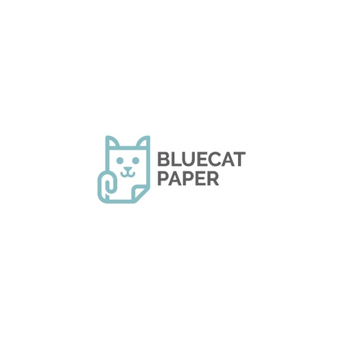 Bluecat paper logo