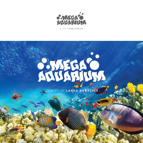 Logo design for aquarium manufacturer.
