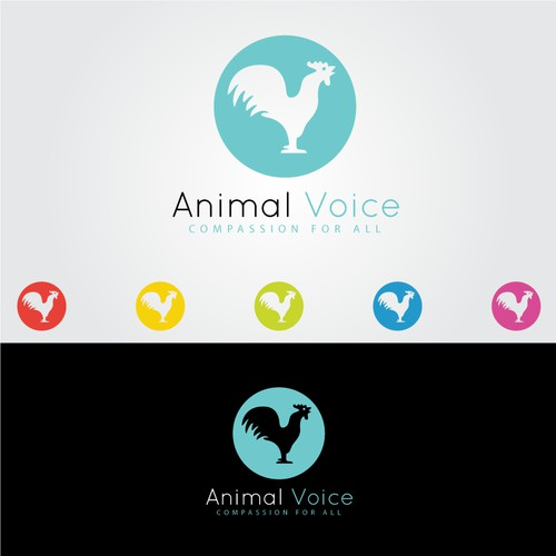 Create a logo for advocacy group Animal Voice
