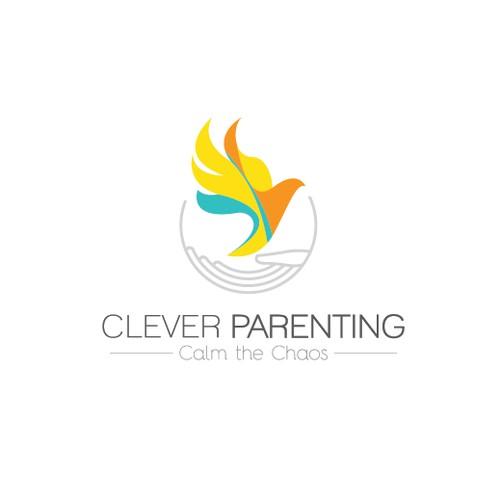 logo design for clever parenting