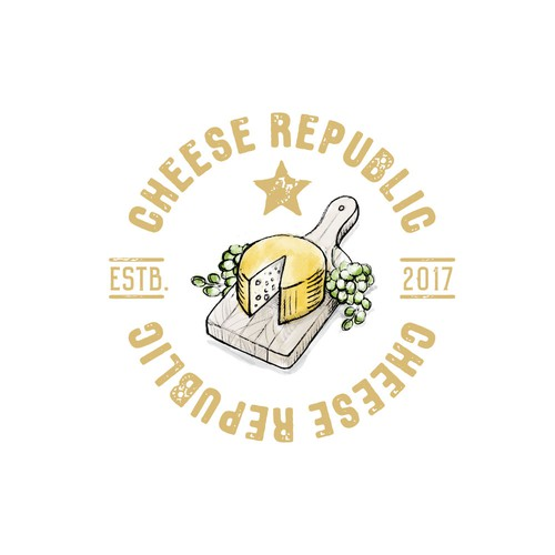 logo for a cheese dealer