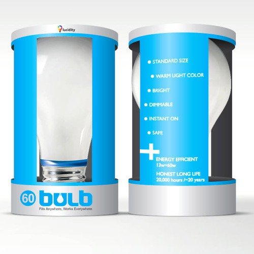 BULB brand identity and packaging