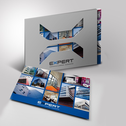 Die-cut Folder and Brochure Cover