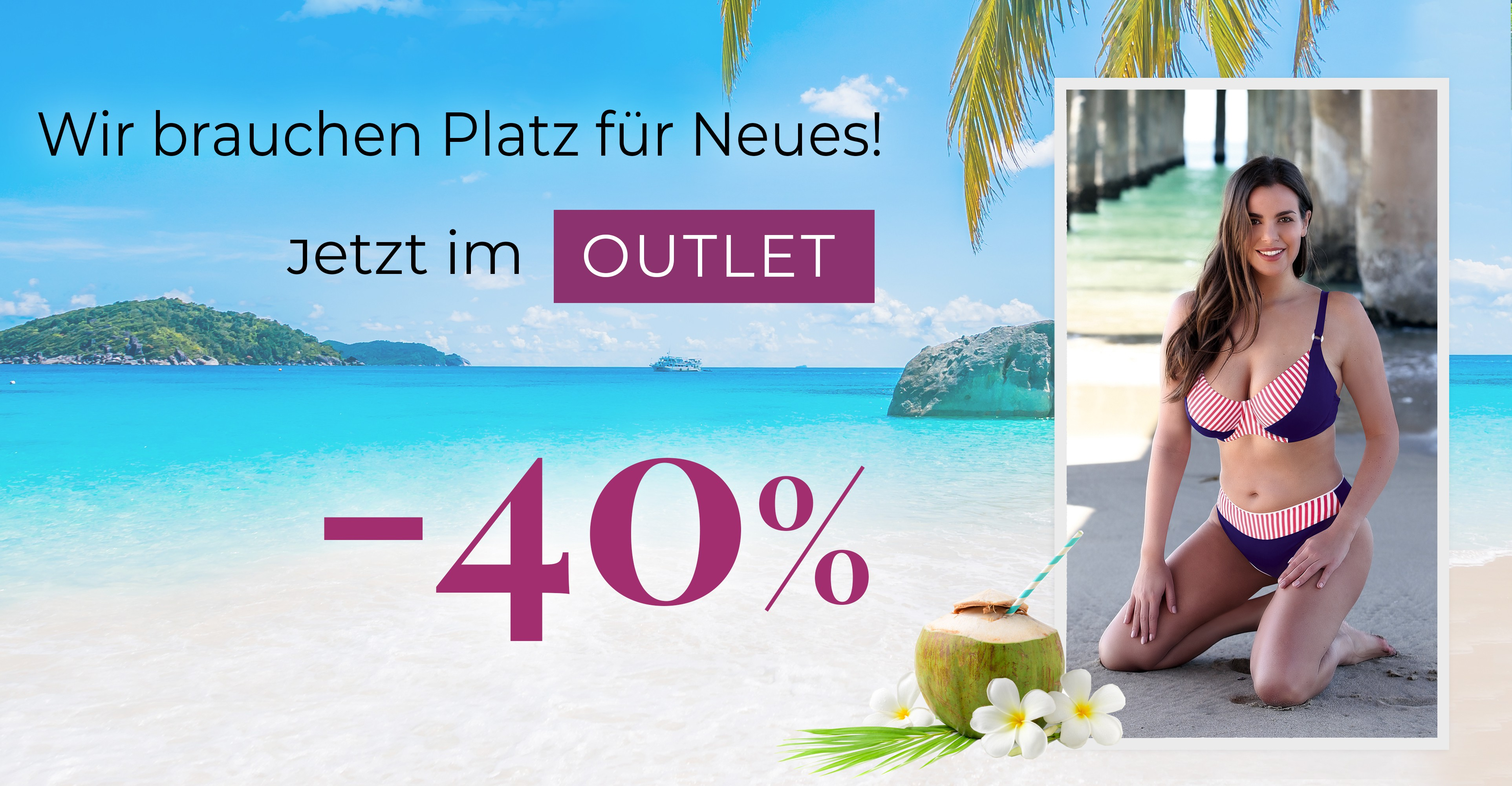 """""""Outlet""""-Ad 40% Price Off"""