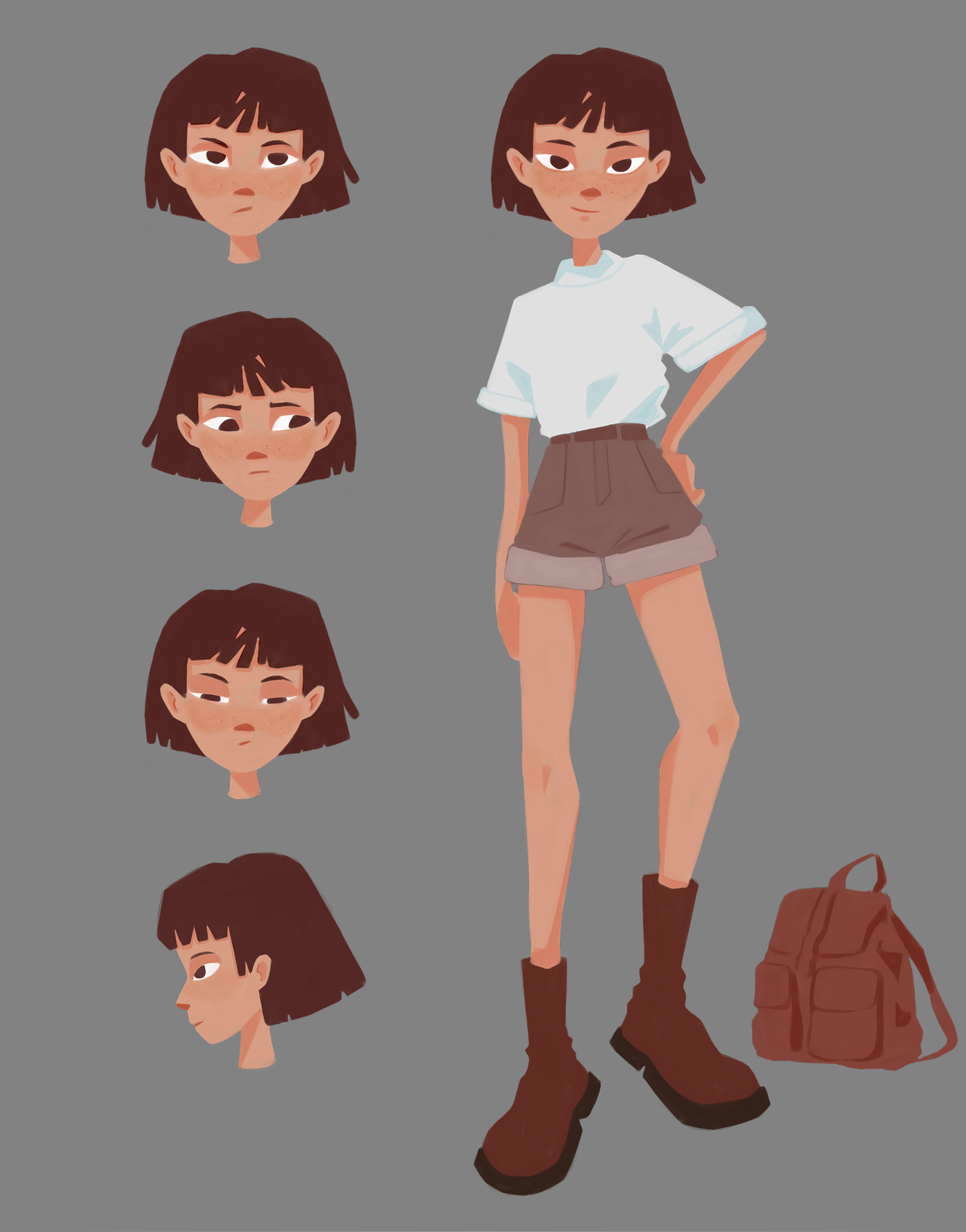 Character Design for an Animated Web Series