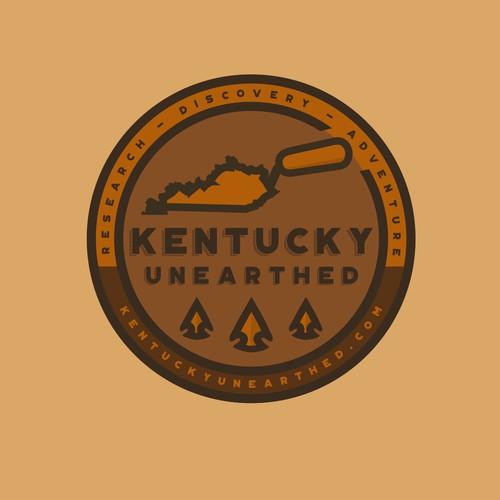 Logo for metal detecting, arrowhead hunting in Kentucky