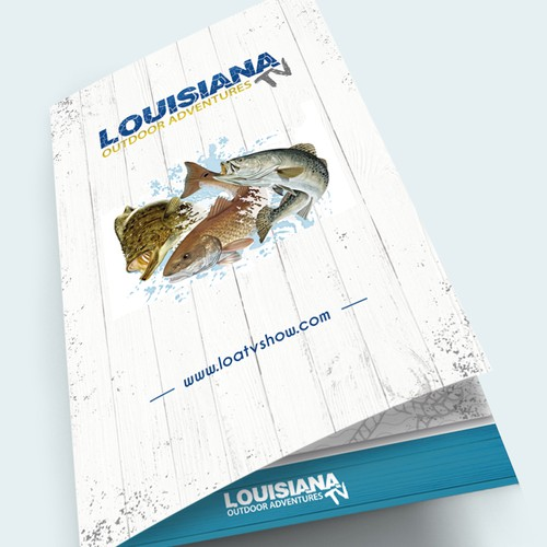Cover page - Louisiana Outdoor Adventures Menu