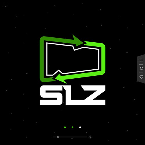 Modern Logo Concept for SLZ company