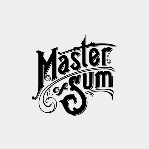 timeless hand-painted sign inspired logo